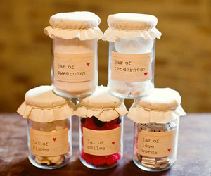 jar, love, and smile image