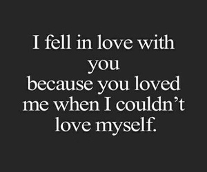 love, quotes, and myself image