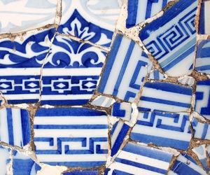 blue, ceramics, and mediterranean image