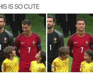 Ronaldo, funny, and kids image