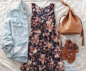 adorable, sandal, and dress image