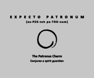charm, curse, and expecto patronum image