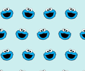 blue, Cookies, and crazy image