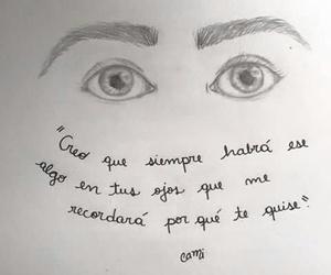 amor, ojos, and miradas image