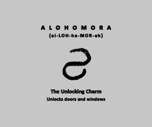 curse, hex, and alohomora image