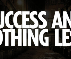success, text, and quote image