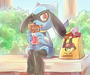 chocolate, kawaii, and pokemon image