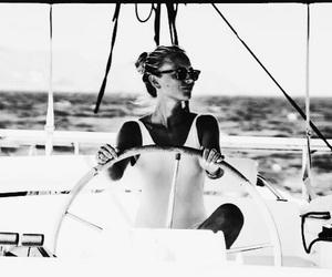 summer, girl, and sea image
