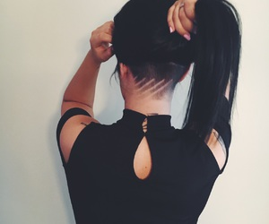 33 images about undercut girls on We Heart It | See more