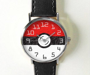 etsy, pokemon, and leather watch image