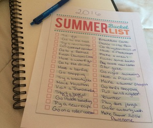 pretty, summer, and bucket list image