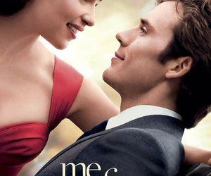 me before you, movie, and book image