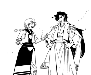 manga, magi, and Sinbad image
