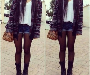 brunette, fashion, and outfits image