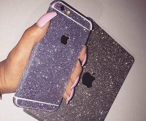 glitter, iphone, and ipad image