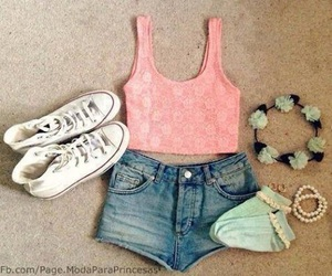 converse, summer, and outfit image