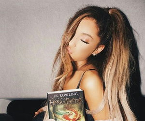 ariana grande, harry potter, and arianagrande image