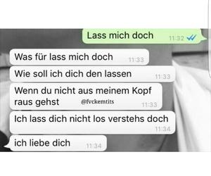 chat, deutsch, and liebe image