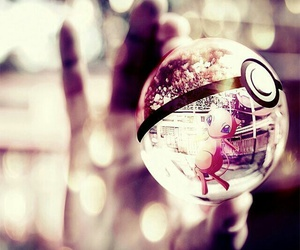 pokemon, pokeball, and mew image