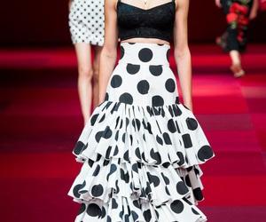 fashion, Dolce & Gabbana, and glam image