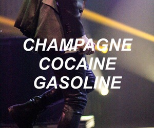 band, champagne, and cocaine image