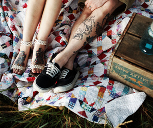 tattoo, couple, and boy image