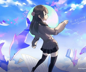 anime, song, and game image