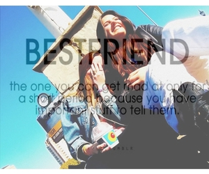 best friends, bff, and fun image
