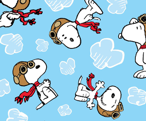 background, pattern, and peanuts image