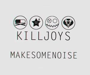 my chemical romance, mcr, and killjoys image