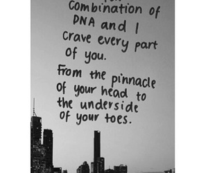 black and white, in love, and quote image