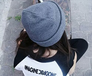 fashion, girl, and imagine dragons image