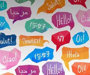 hello, wallpaper, and language image