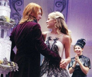 harry potter, bill weasley, and fleur delacour image