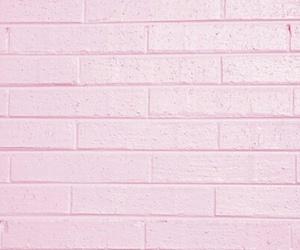 pink, wall, and brick image