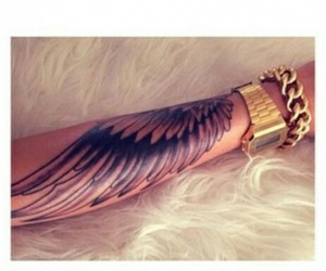 tattoo and wing image
