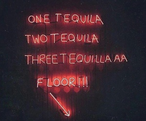 tequila, neon, and drunk image