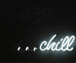 chill, neon, and light image