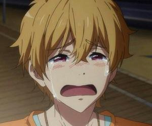 anime, nagisa, and cry image