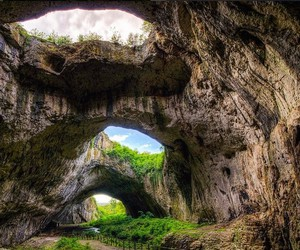caves, nature, and outdoors image
