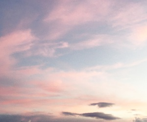 cielo, sky, and sunset image