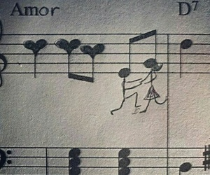 musical, note, and love image