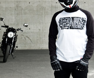etsy, motorcycle tee, and women's t-shirt image
