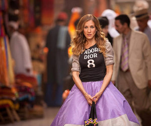 sex and the city, Carrie Bradshaw, and sarah jessica parker image