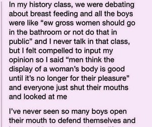 feminism, tumblr post, and equality image