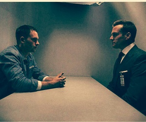 harvey and mike in prison image