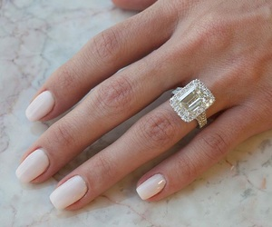 engagment, ring, and wedding image
