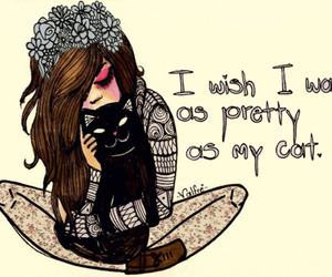 cat, pretty, and valfre image