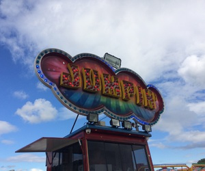 fairground, shows, and lights image