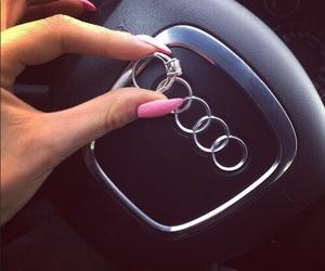audi, car, and nails image